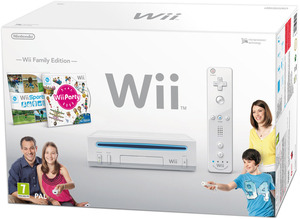 Wii family white bkgd best
